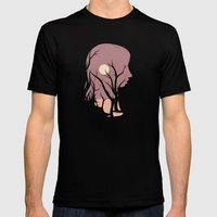 Grove Mens Fitted Tee Black SMALL