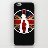 Queen and Country (Sherlock BBC) iPhone & iPod Skin