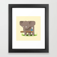 Fetch! Framed Art Print
