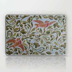 Bird & leaves Laptop & iPad Skin