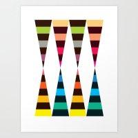 Chaussettes (2010) Art Print