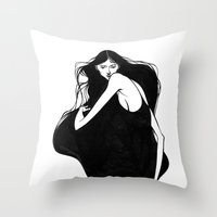 I Was Here Throw Pillow