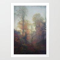 Last Colors Art Print