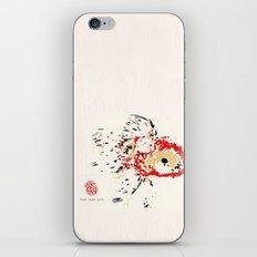 Gold Fish 4 iPhone & iPod Skin