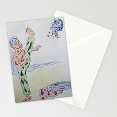 Bootleg Series: Ninja Surfers 3: Ninja Surfers VS Dracula: A Kick in the Teeth Stationery Cards