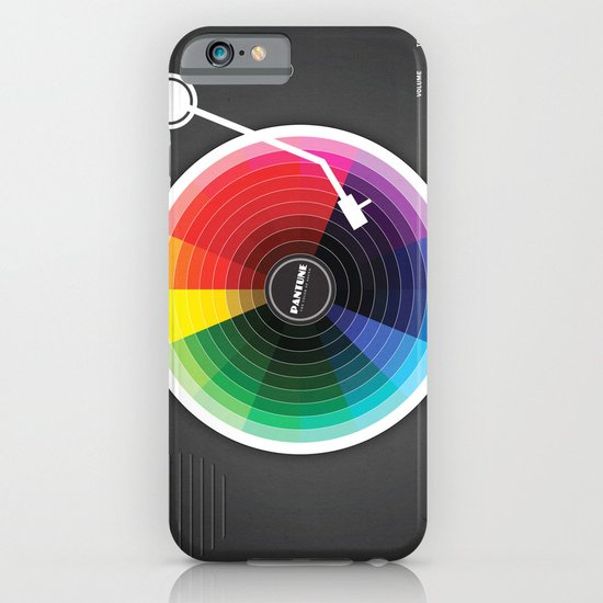 Pantune - The Color of Sound iPhone & iPod Case