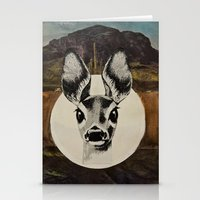 Desert Eyes Stationery Cards