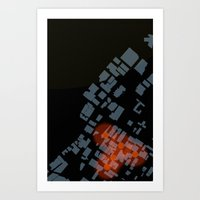 Figure Ground Art Print