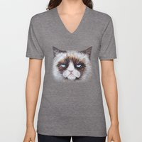Tard the cat Unisex V-Neck