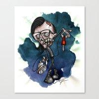 Zombie Skrillex / Special Edition Canvas Print