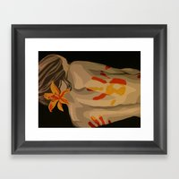 Heat Of Your Touch Framed Art Print