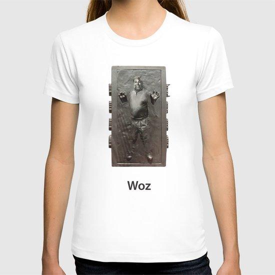 Steve Wozniak in Carbonite T-shirt