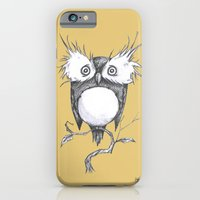 iPhone Cases featuring Fluffy Owl by Alice Bryant