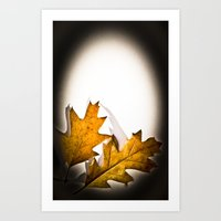 Egg Leaf Art Print