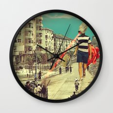 FisherCam Wall Clock