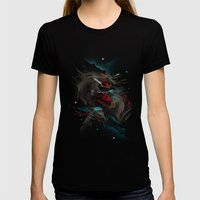 Shangri-La Womens Fitted Tee Black SMALL