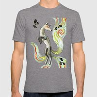 Mechanical Fox Mens Fitted Tee Tri-Grey SMALL