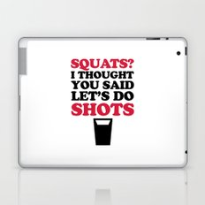 Do Squats Gym Quote Laptop & iPad Skin
