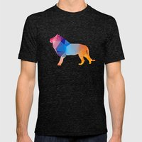 Glass Animal Series - Li… Mens Fitted Tee Tri-Black SMALL