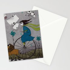I Follow the Wind Stationery Cards