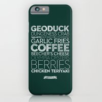 Seattle — Delicious Ci… iPhone 6 Slim Case