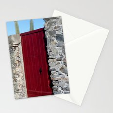 Red & gray Stationery Cards