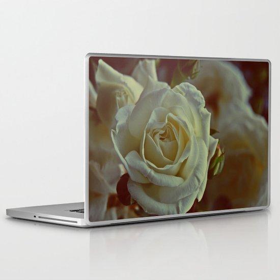 White Rose  Laptop & iPad Skin