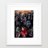Brrreakfast Framed Art Print