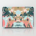 Eisley - Modern fresh abstract painting in bright colors perfect for trendy girls decor college iPad Case