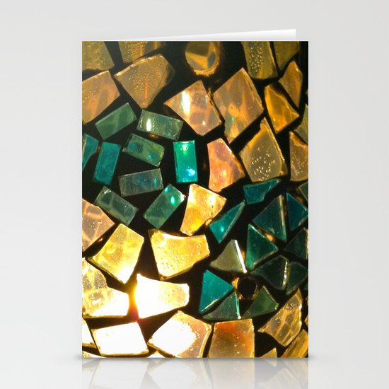 Broken Glass Stationery Card