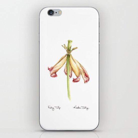Fading Tulip iPhone & iPod Skin