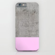 Pink On Concrete iPhone 6 Slim Case