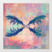 freely Canvas Print