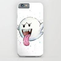 iPhone Cases featuring Boo by Olechka