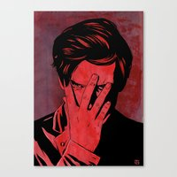 Somehow Shame Canvas Print