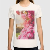 Roses Womens Fitted Tee Natural SMALL