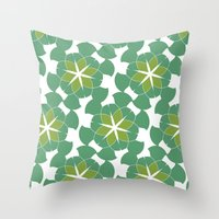 Spring Floral Pattern 1 Throw Pillow