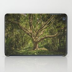 Spirits inside the wood iPad Case