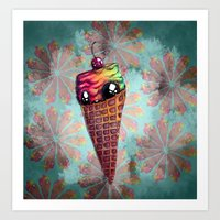 With a Cherry on Top Art Print