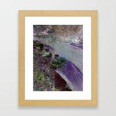At the river Framed Art Print