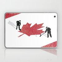 Snow in Canada Laptop & iPad Skin