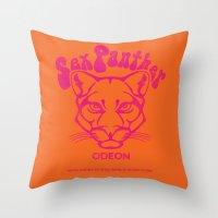 ANCHORMAN - Sex Panther  Throw Pillow