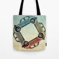4 more bugs _ VW beetle Tote Bag