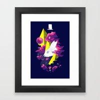 Paranormal Hare Framed Art Print