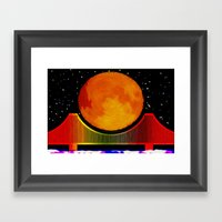 Night on the City - 006 Framed Art Print