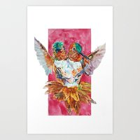 The Ultimate Pollinator Art Print