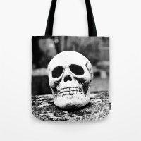 Graveyard Horror Tote Bag