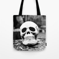 Graveyard Horror Tote Bag