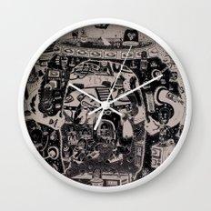 contacto real Wall Clock