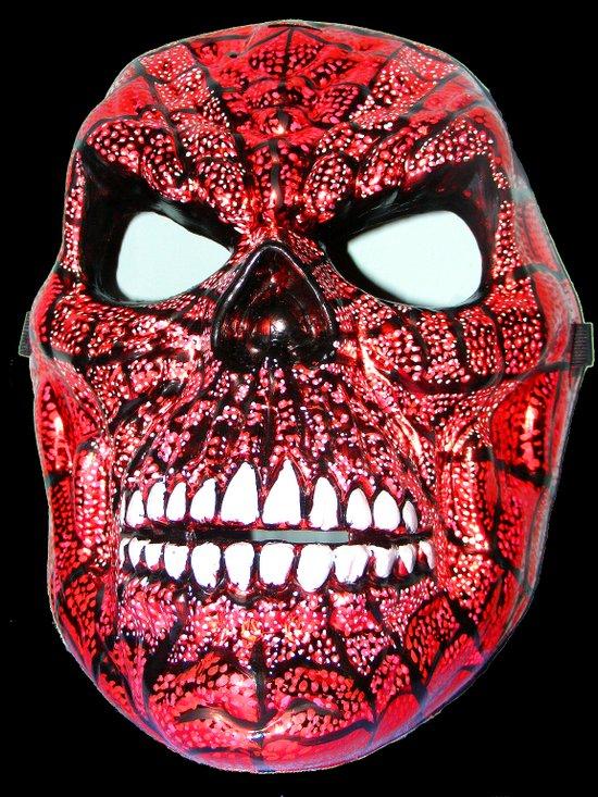 Spidey Skull Art Print